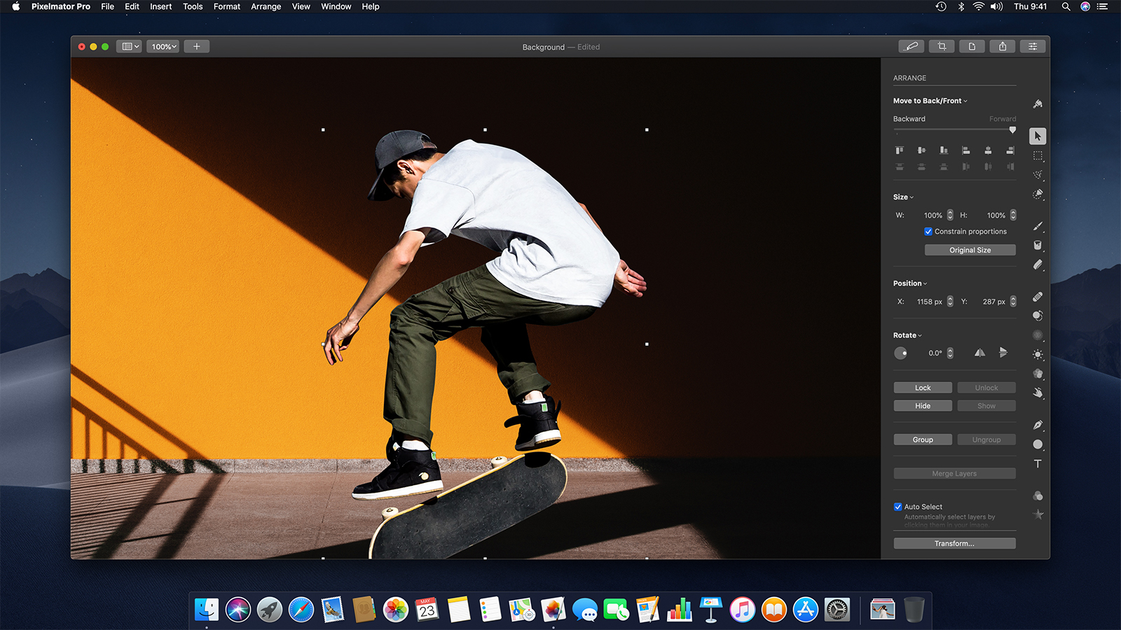 Copy an object from one image to another - Pixelmator Pro Tutorials